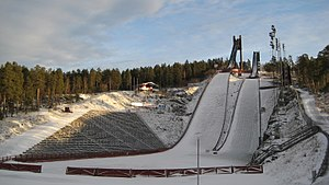 Lugnet, Falun - Lugnet Hills in 2008
