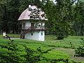 Lukavec - tzv. hříbek v zámeckém parku (Památník Antonína Sovy).JPG