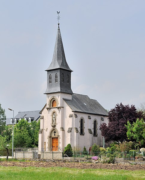 Church at Hagelsdorf, Luxembourg