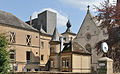 Luxembourg City Square Guillaume II towards Notre-Dame Cathedral April 2011.jpg