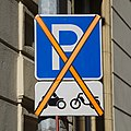 Luxembourg road sign E,23 motorcycle & moped (crossed out).jpg