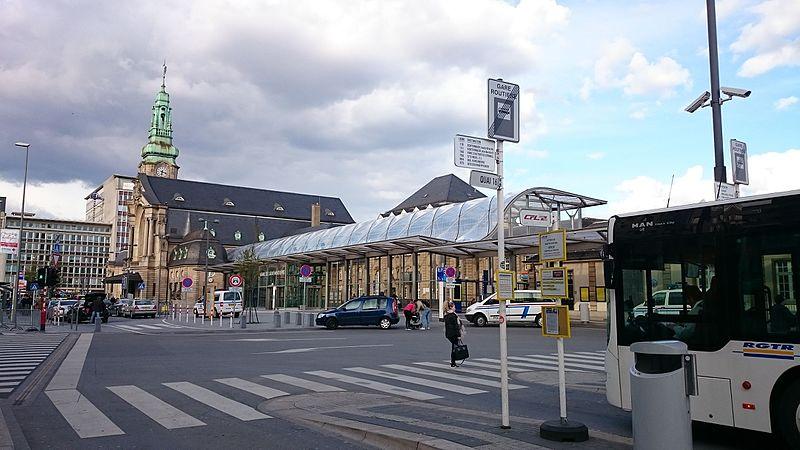 Como chegar em Luxemburgo de Amsterdam