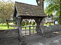 Lych gate, St Michael and All Angels Church, Altcar.jpg