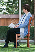Lyse Doucet interviewing.jpg