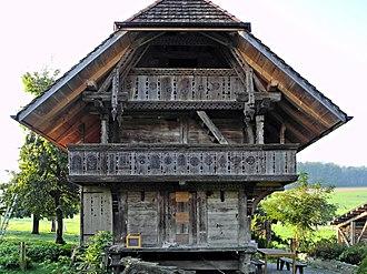 Mühledorf, Bern - Granary
