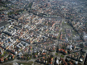 Ludwigsvorstadt-Isarvorstadt - Aerial view of Ludwigsvorstadt