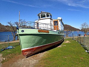 MV Lady Wakefield - Image: M.V. Lady Wakefield, high and dry (geograph 4902850)