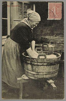 Les lavandière ancêtre de la machine à laver