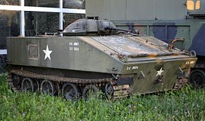 M114 armored fighting vehicle - M114 with tank cupola (experimental)