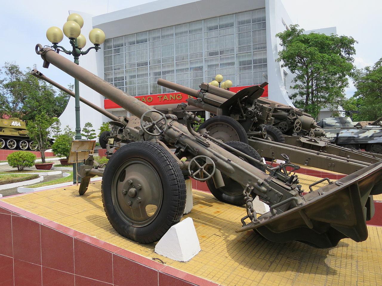 Military Mortar Sizes : File m mm mortar at zone military museum danang