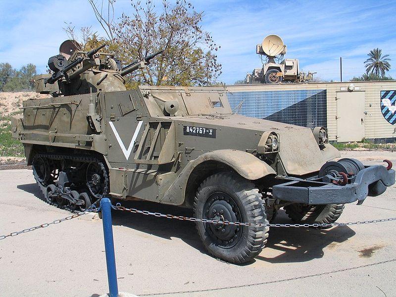 M3 Halftrack, TCM-20 Hatzerim AA version