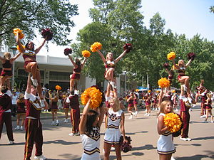 Minnesota Golden Gophers Spirit Squads - The Golden Gophers Spirit Squads at the Minnesota State Fair in 2003.