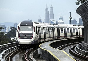 Rapid Rail - Image: MRT SBK Semantan station 2