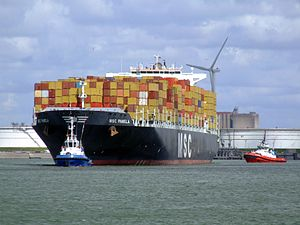 MSC Pamela p05, at the Amazone harbour, Port of Rotterdam, Holland 29-Jul-2007.jpg