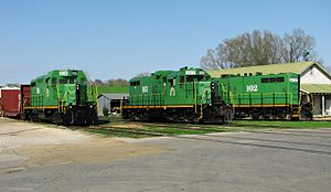 Ripley and New Albany Railroad - Former MTNR Locomotive Roster.