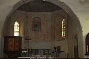 Mała Kamienica k. Jeleniej Góry Kościół Św. Barbary Wnętrze (1).JPG