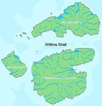 Mackenzie King Island - Mackenzie King Island and Borden Island