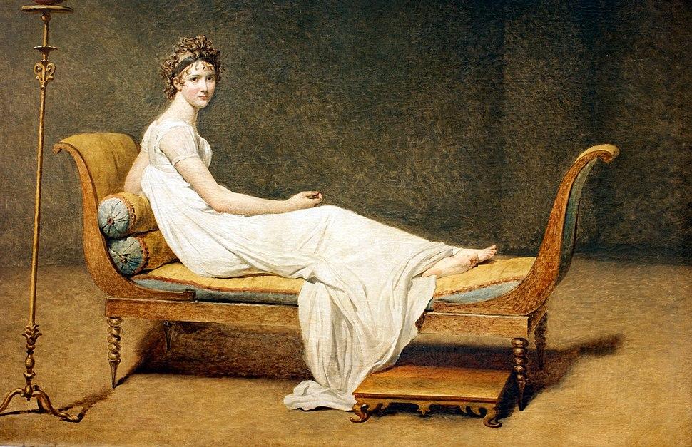 Madame Récamier by Jacques-Louis David