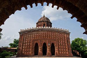 Durjan Singha Dev - Image: Madan Mohan Temple of Vishnupur