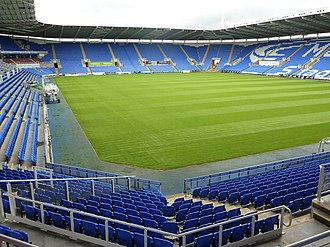 Reading F.C. - The Madejski Stadium has been Reading's home ground since 1998