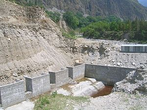 Gori Ganga - Madkote dam, one among many constructions in the fragile valley