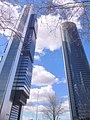 Madrid - CTBA, Torre Cepsa (Torre Foster) y Torre PwC 12.jpg
