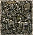 Maestro che si firma I.S.A., apollo e vulcano, 1500-1550 circa.JPG