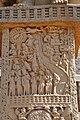 Mahakapi Jataka - West Face - South Pillar - West Gateway - Stupa 1 - Sanchi Hill 2013-02-21 4321.JPG