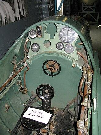 Italian auxiliary ship Olterra - Cockpit of a maiale.