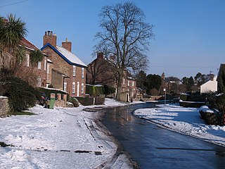 Asenby village in the United Kingdom