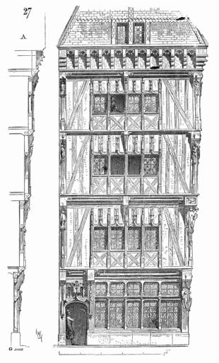 Encorbellement wikip dia for Dictionnaire architecture et construction