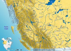 Western Canada rivers