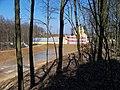 Malešov, Dubina, výstavba nádrže.jpg