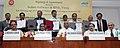 Mallikarjun Kharge, the Union Steel Minister, Shri Beni Prasad Verma, the Minister of State for Railways, Shri Adhir Ranjan Chowdhury, the Secretary, Ministry of Steel, Shri G. Mohan Kumar and the Chairman, Railway Board.jpg