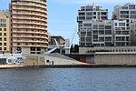 Malta - Sliema - Triq Ix-Xatt ta' Tigné+Tigné Pedestrian Bridge (Ferry Sliema-Valletta) 02 ies.jpg