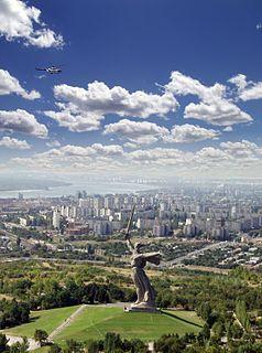Mamayev Kurgan Historical place, hill in Russia