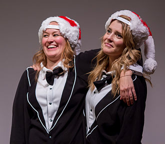 Grace Helbig - Mamrie Hart and Helbig onstage at No Filter in December 2013