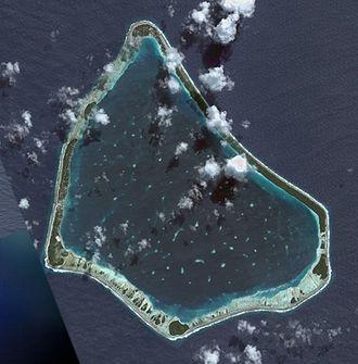 Manihiki - NASA picture of Manihiki