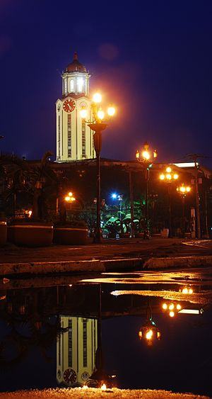 Manila City Hall - Manila City Hall at Night