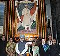 Manmohan Singh, the Speaker, Lok Sabha, Smt. Meira Kumar, the Union Finance Minister, Shri Pranab Mukherjee, the Leader of Opposition in Lok Sabha, Smt. Sushma Swaraj, the Chairperson, National Advisory Council.jpg