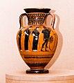 Manner of the Antimenes Painter - ABV 278 31 - gods - Theseus killing the Minotaur - Erlangen AS M 61 - 04.jpg