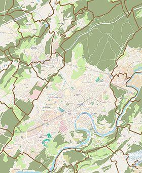 (Voir situation sur carte: Besançon)