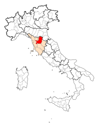 Map Province of Firenze.svg