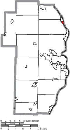 Location of Empire in Jefferson County