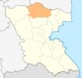 Map of Ruen municipality (Burgas Province).png