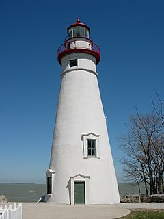Marblehead Light (Ohio) lighthouse in Ohio, United States