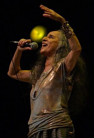 Maria Bethânia - Bethânia performing in Rio de Janeiro, 2012