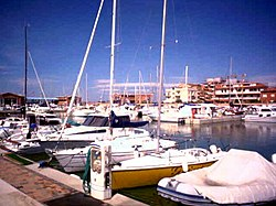 The Port of Marina di Grosseto