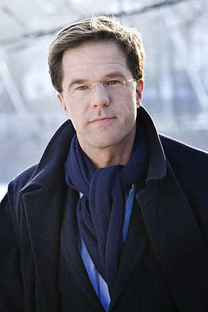 Prime Minister of the Netherlands - Image: Mark Rutte 1