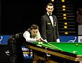 Mark Selby and Marcel Eckardt at Snooker German Masters (DerHexer) 2015-02-04 03.jpg